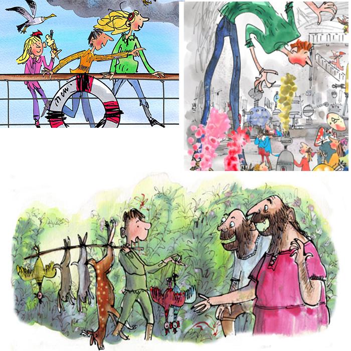 Mark Beech illustrations